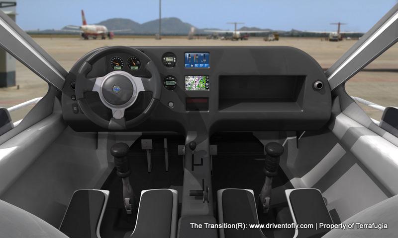 flying car terrafugia. Black Bedroom Furniture Sets. Home Design Ideas