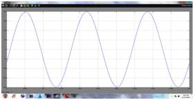 Current through distribution line