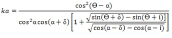 ka equation